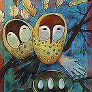 Oracle Owls by Madara Mason