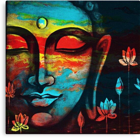 Buddha Peace 3 by Preetkriti