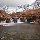 Fairy Pools, Isle of Skye in Winter by derekbeattie