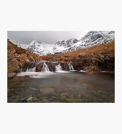 Fairy Pools, Isle of Skye in Winter Photographic Print