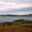 Ferry  to Iona by Alexander Mcrobbie-Munro