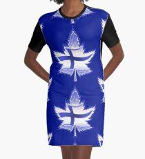 Finnish Canadian Graphic T-Shirt Dress