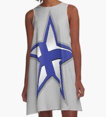 Finnish American Star A-Line Dress