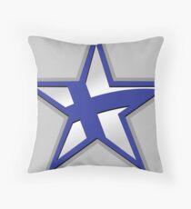 Finnish American Star Throw Pillow