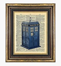 T.A.R.D.I.S. Dr. Who Photographic Print
