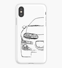 Fbody Nation Camaro Front end iPhone Case/Skin