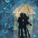 Love In the Rain by TraciVanWagoner
