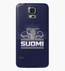 Suomi Finland Lion V2 Case/Skin for Samsung Galaxy