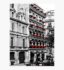 Paris walk Photographic Print