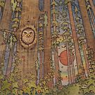 Owl in the Forest by Fay Helfer
