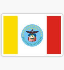 Flag of Columbus, Ohio  Sticker