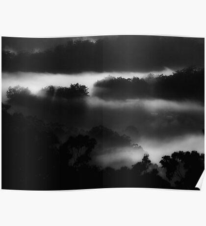 """Midnight Mist"" Poster"