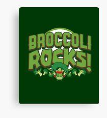 Broccoli Rocks! Canvas Print