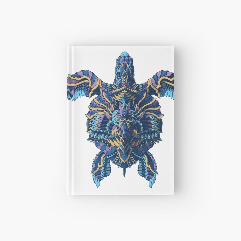 Tortuga marina (Versión en color) Cuaderno de tapa dura