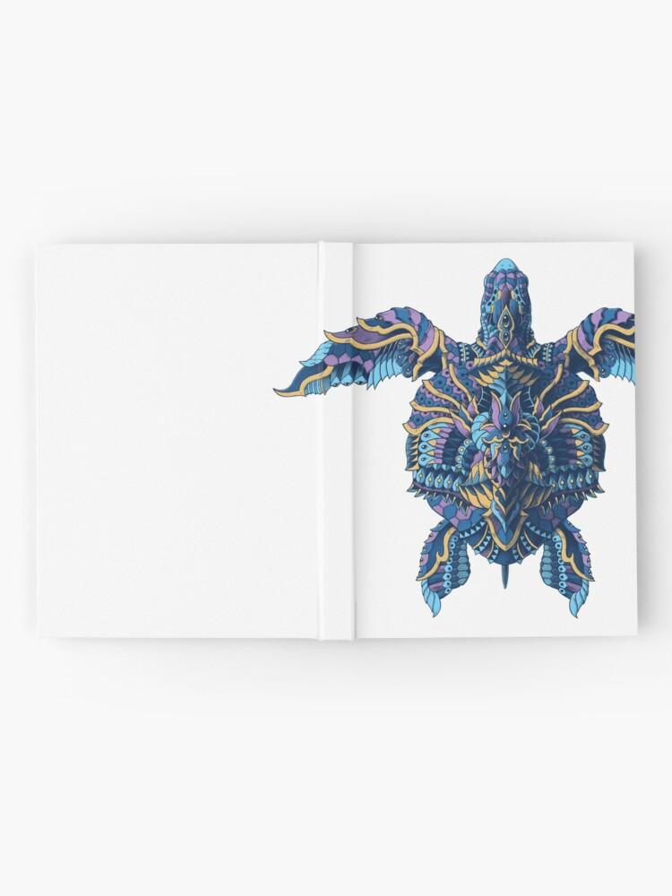 Vista alternativa de Cuaderno de tapa dura Tortuga marina (Versión en color)
