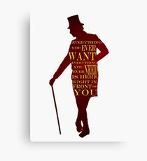 Greatest Showman - Everything Canvas Print