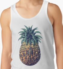 Ornate Pineapple (Color Version) Tank Top
