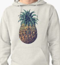 Ornate Pineapple (Color Version) Pullover Hoodie