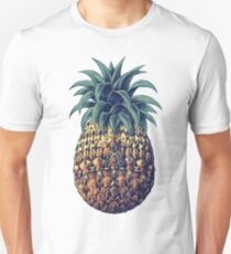 Ornate Pineapple (Color Version) Unisex T-Shirt