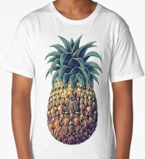 Ornate Pineapple (Color Version) Long T-Shirt