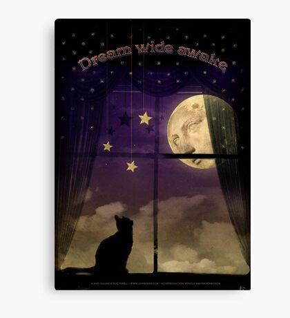 Dream Wide Awake Canvas Print