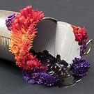 Sunset, Sculpture on a Tin Can by Stephanie KILGAST