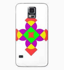 SQUARES AND CIRCLES Case/Skin for Samsung Galaxy