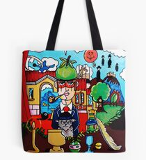 Magritte Tribute Collection Handmade Tote Bag