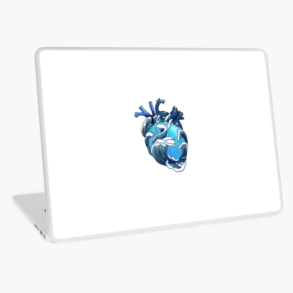 Beneath the Waves Laptop Skin