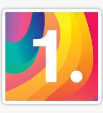 1. - 1.1.1.1 White on Color Sticker