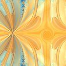 Orange Marble by Julie Miles