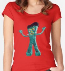 FrankenGumby Women's Fitted Scoop T-Shirt