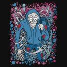 Hooded Skull by Ross Radiation