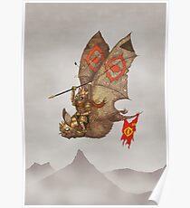 Goblin Bat Airforce Poster