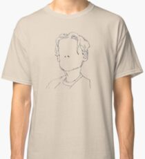 B&W Sketch - Bane's World Classic T-Shirt