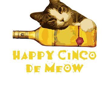 Cinco De Mayo - Happy Cinco De Meow by ItsWickedGood