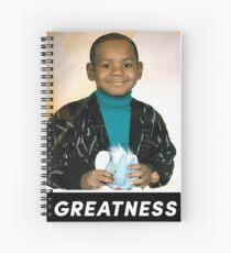 Lebron James - Greatness Tee Spiral Notebook