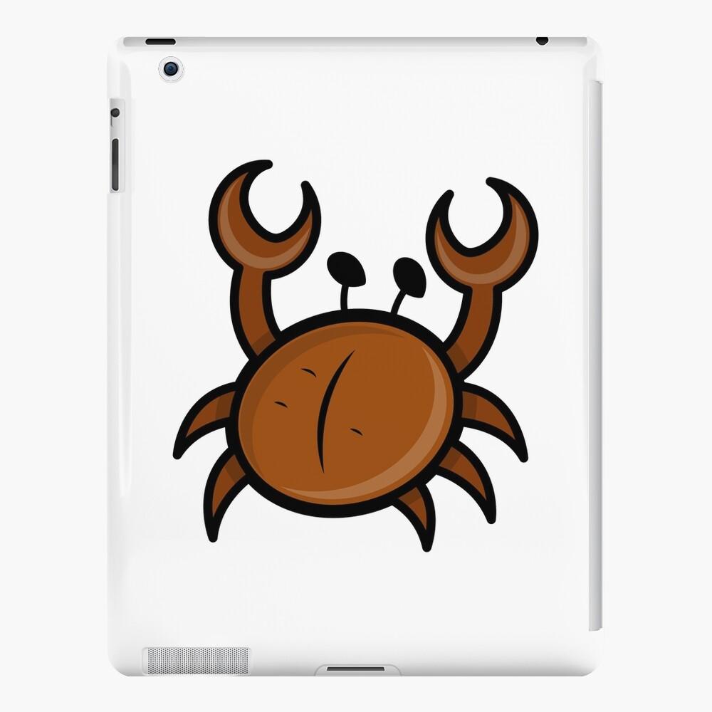 Red Crab Cartoon iPad-Hülle & Skin