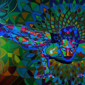 Parsva Bakasana digital - 2013 by karmym