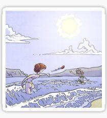 Sunny days - Frisbee Sticker