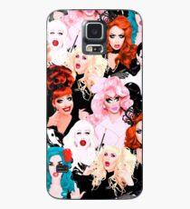 Funda/vinilo para Samsung Galaxy VIBRANCE feat. Rupaul's Drag Race Queens Bianca, Adore, Alaska, Katya, Trixie, Sharon, Alyssa, Violeta
