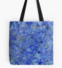 Blue Out Tote Bag