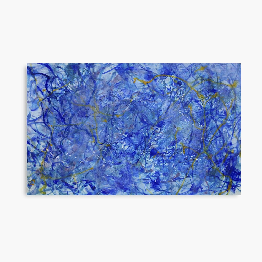 Blue Out Canvas Print