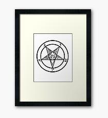 Satan Framed Print
