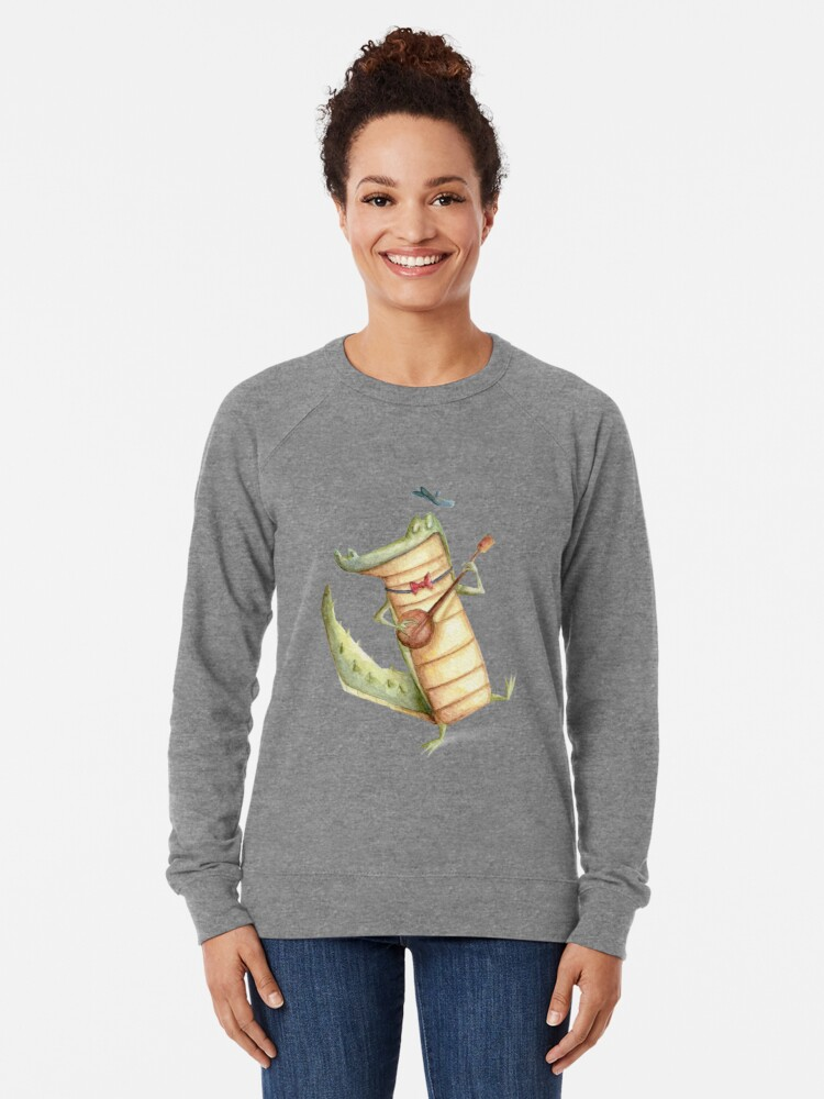 Alternate view of Play for me Croco Lightweight Sweatshirt