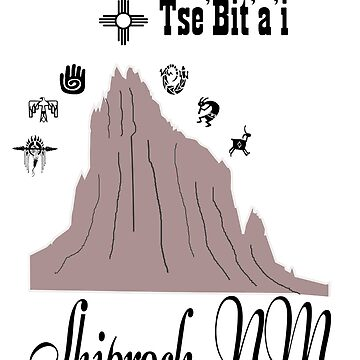 Shiprock New Mexico by NewMexicoTees