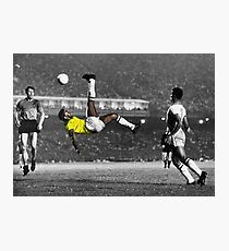 Brazil's Legend Pele Photographic Print