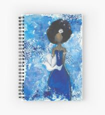 Zeta Angel Spiral Notebook