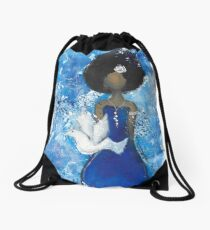 Zeta Angel Drawstring Bag