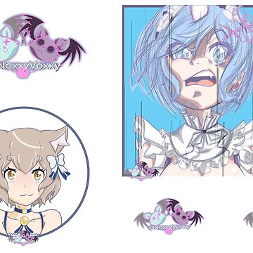 NoxxyVoxxy Season 1 Sticker Page REZERO by NoxxyVoxxy